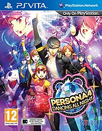 Persona 4: Dancing All Night PS Vita Cover Art