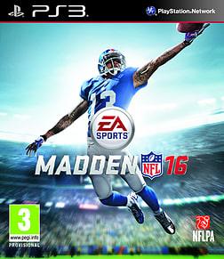 Madden NFL 16 PlayStation 3