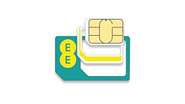 EE 4G Pay As You Go Multi SIM (Standard size/micro & Nano) plus £5 credit Mobile phones