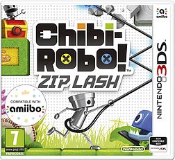 Chibi-Robo! Zip Lash 3DS Cover Art