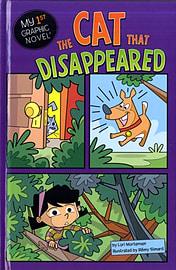 The Cat that Disappeared (My First Graphic Novel) (Hardcover) Books