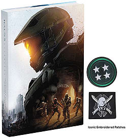 Halo 5: Guardians Collector's Edition Strategy Guide Strategy Guides and Books