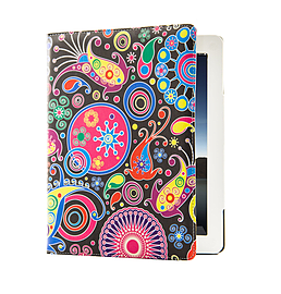 Design Book PU Leather Wallet Case For Sony Xperia Z4 Tablet - Jellyfish Tablet