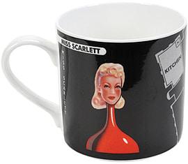 Cluedo Bone China Mug Miss Scarlett Home - Tableware