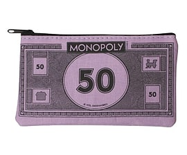Monopoly Coin Purse £50 Figurines and Sets