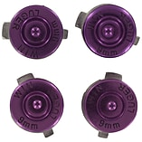 ZedLabz aluminum metal action bullet button set for Sony PS4 controllers - Purple screen shot 2