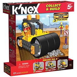 Knex Construction Crew Steam Roller Figurines and Sets