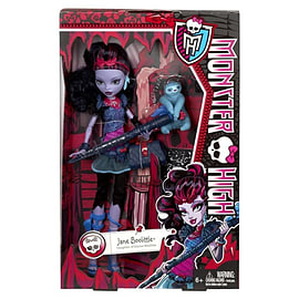 Monster High Jane Boolittle Doll Figurines and Sets
