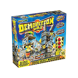 SmartLab Demolition Lab Triple Blast Warehouse Figurines and Sets