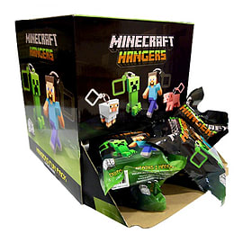 Minecraft 3D Hangers Figurines and Sets