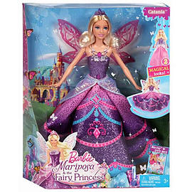Barbie Mariposa Catania Fairy Princess Doll Figurines and Sets