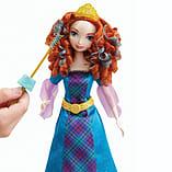 Disney Princess Colourful Curls Merida Doll screen shot 2