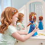Disney Princess Colourful Curls Merida Doll screen shot 3