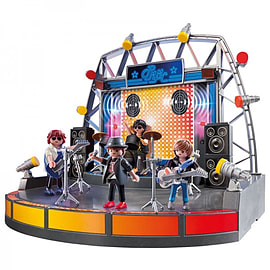 Playmobil City Life Pop Star Stage & Band Figurines and Sets