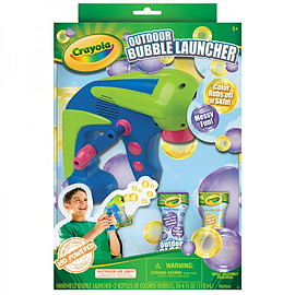 Outdoor Bubble Launcher Gun Figurines and Sets