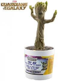 Guardians Of The Galaxy Electronic Dancing Baby Groot Figurines and Sets