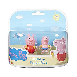 Peppa Pig Holiday 2 Figure Pack Figurines and Sets