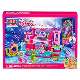 Barbie Mega Bloks Build n Play Underwater Castle Blocks and Bricks