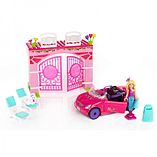 Barbie Mega Bloks Build n Style Convertible Car Playset screen shot 1