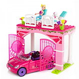 Barbie Mega Bloks Build n Style Convertible Car Playset screen shot 2
