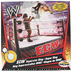 WWE ECW Superstar Ring Figurines and Sets
