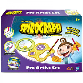 Spirograph Pro Artist Set Figurines and Sets