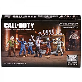 Call Of Duty Zombies Outbreak 75 Piece Set Blocks and Bricks