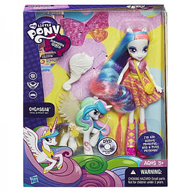 My Little Pony Equestria Girls With Pony - Celestia Figurines and Sets