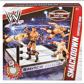WWE SMACKDOWN Superstar Ring Figurines and Sets
