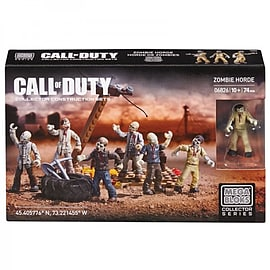Call Of Duty Zombies Horde 74 Piece Set Blocks and Bricks