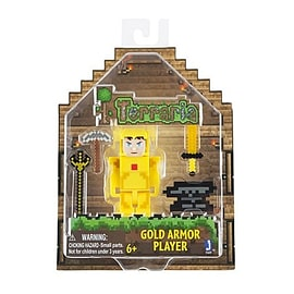 Terraria Gold Armor Player and Accessories Figurines and Sets