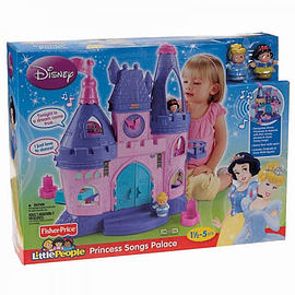 Little People Disney Princess Songs Palace Pre School Toys