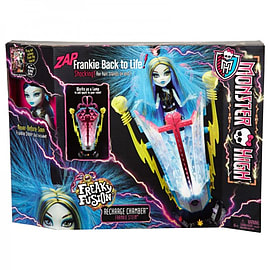 Monster High Freaky Fusion Recharge Chamber Figurines and Sets