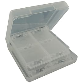 ZedLabz game case for Nintendo DS - cartridge storage box holder 16 in 1 - White NDS