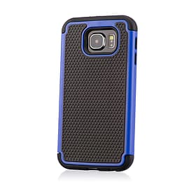 Dual Layer Shockproof Case For Samsung Galaxy Note 5 Edge - Deep Blue Mobile phones