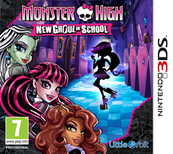 Monster High New Ghoul In School 3DS