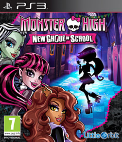 Monster High New Ghoul In School PlayStation 3