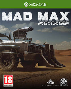 Mad Max: Ripper Special Edition - Only At GAME Xbox One Cover Art