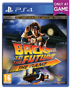 Back to the Future 30th Anniversary - Only at GAME PlayStation 4