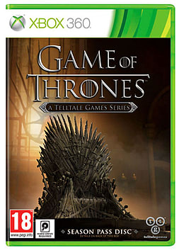 Game of Thrones Season 1 XBOX360 Cover Art