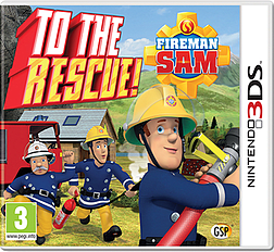 Fireman Sam: To the Rescue 3DS Cover Art
