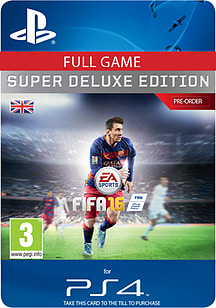 FIFA 16 Super Deluxe Edition (Pre-Order) PlayStation 4