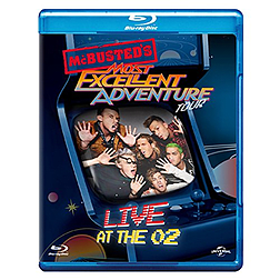 McBusted: Most Excellent Adventure Tour Live At The O2 Blu-ray