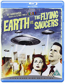 Earth Vs. the Flying Saucers Blu-ray