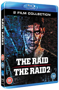 The Raid and The Raid 2 Blu-ray