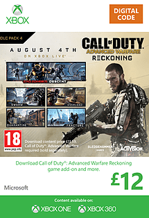 Call of Duty Advanced Warfare: Reckoning Xbox Live