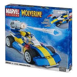 Mega Bloks Marvel Universe Wolverine Racer Blocks and Bricks