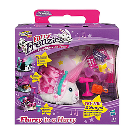 Fur Real Furry Frenzies FurrStars On Tour - Flurry In A Hurry Figurines and Sets