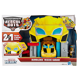 Transformers Bumblebee Rescue Bots Garage Figurines and Sets
