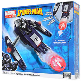 Mega Bloks Marvel Universe Spider-Man Speeder Blocks and Bricks